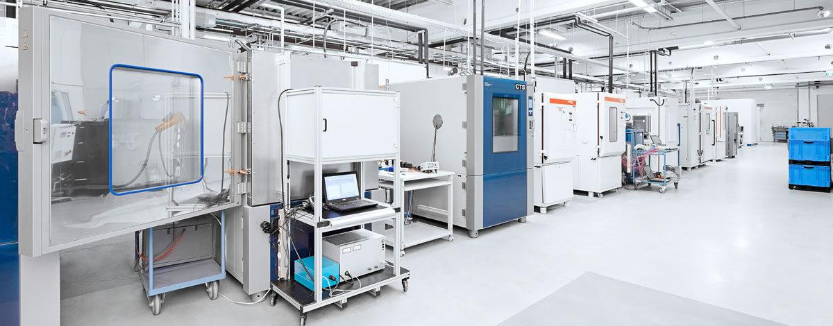 Environmental laboratory - RST LABS - Rail System Testing GmbH